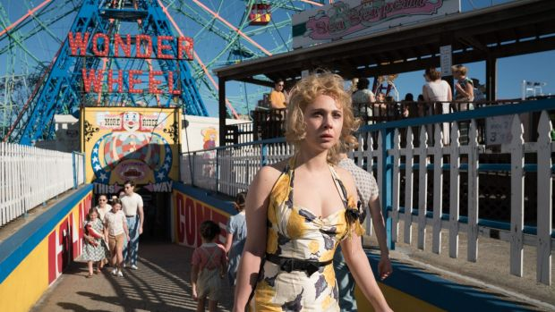 Carolina (Juno Temple) plays a woman hiding from the mob in Woody Allen's latest film.
