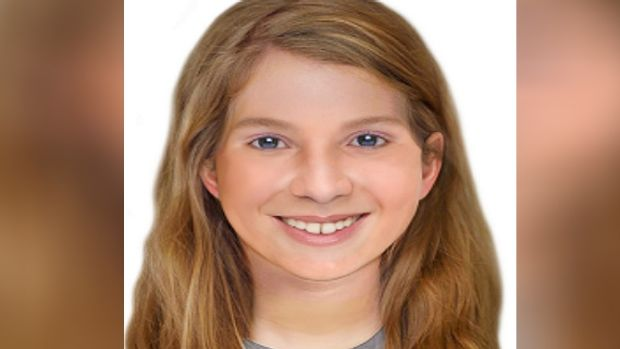 An age enhanced photograph of Leela - who would now be 16.