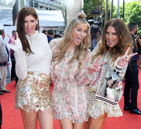 The McClymonts sisters at the ARIAs.