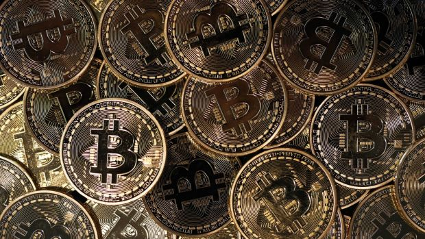 Bitcoin has jumped 70 per cent in a month.