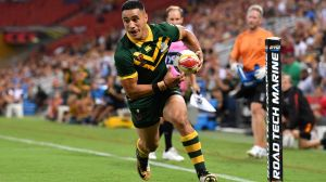 Disinterested: Australia's margins of victory may have turned off potential attendees.