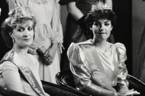 Canberra Times archives. Flashback Friday- Beauty Queens. (27/10/840 The 1985 Queen of Canberra, Elizabeth Denning, 19, ...