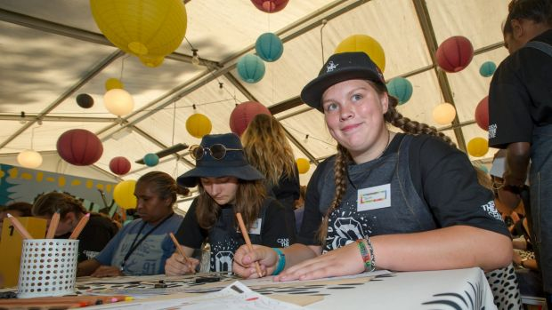 Cooma's Taylah Brooks, 14, helped organise the fundraiser as part of her work with Project O.