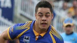"""Jarryd Hayne was """"the man"""" during his first stint with the Eels."""