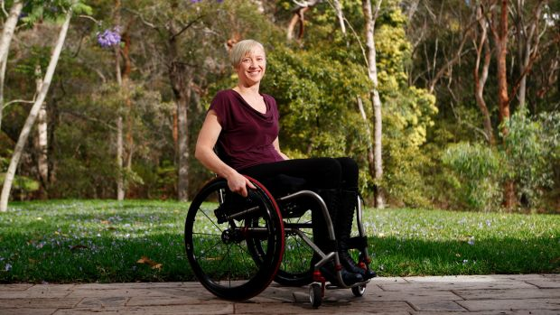 Anne-Marie Howarth says the neuromodulation trial gives her hope that one day she'll be able to walk again.
