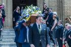 State Funeral for Steve Doszpot at St Christopher's Catholic Cathedral in Griffith, ACT. Photo by Karleen Minney.