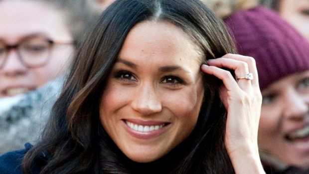 Meghan Markle on the first official public engagement since the engagement announcement.