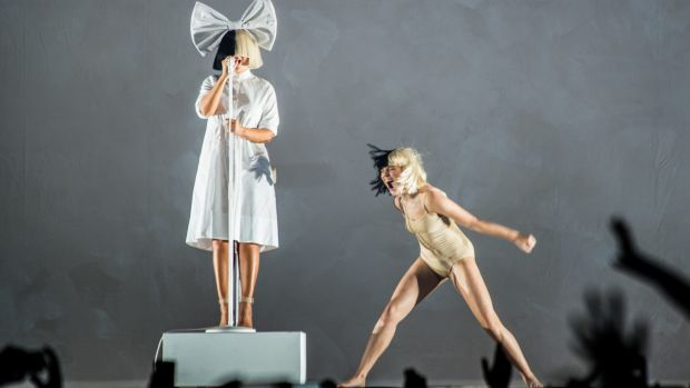 Sia and Maddie Ziegler on her Nostalgic For The Present tour, which played Melbourne and Sydney on November 30 and ...