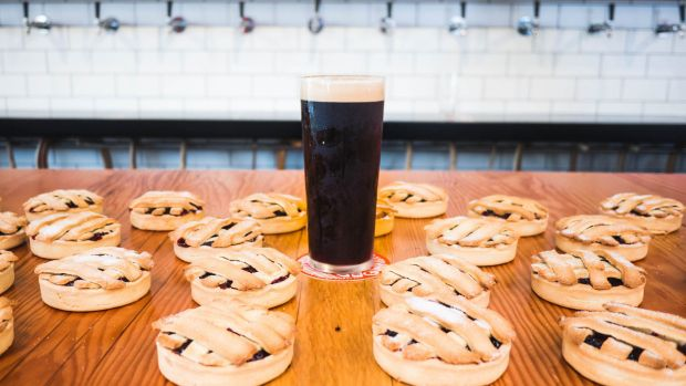 Christmas Cherry Pie Porter at Capital Brewing Co.
