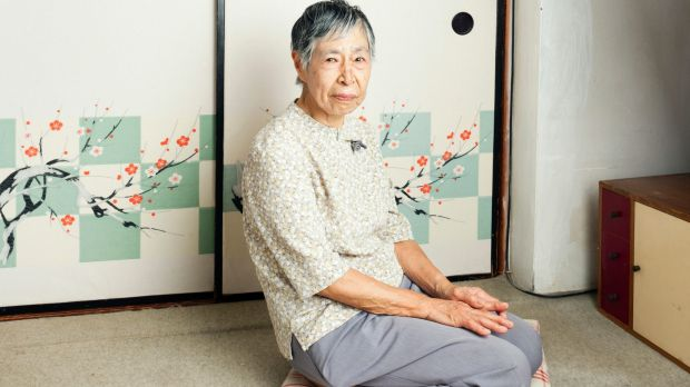 Chieko Ito, 91, in her apartment in Tokiwadaira, Japan.