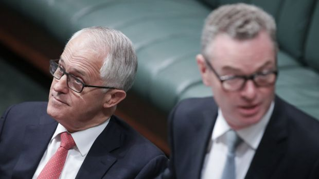 Defence Industry Minister Christopher Pyne will ignore Malcolm Turnbull's lead on amendments.