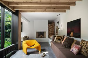 This private residence in Copenhagen was designed by Studio David Thulstrup for renowned Danish photographer Peter ...