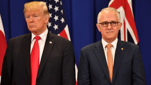 Donald Trump and Malcolm Turnbull got off to a very inauspicious start.