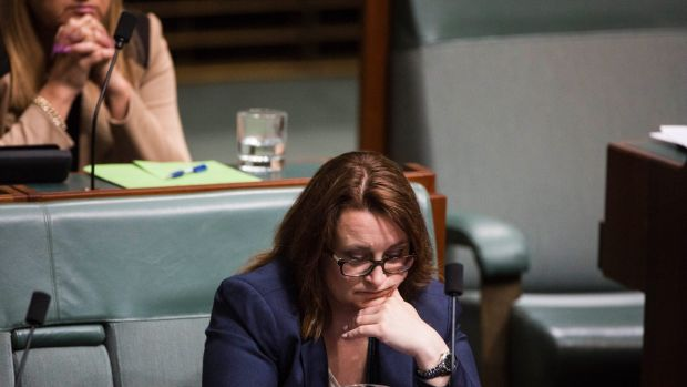 Labor MP Justine Keay during question time on Tuesday.