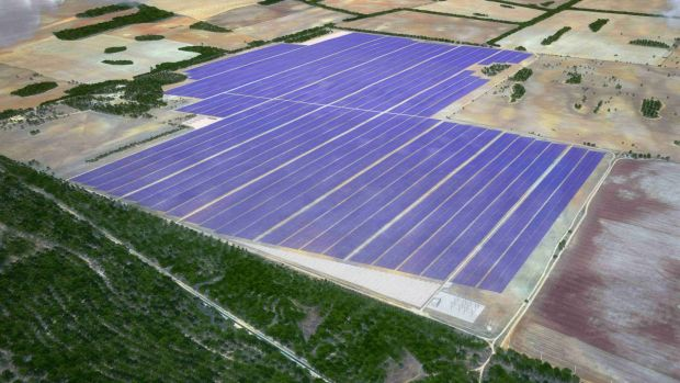 The Sunraysia solar farm will cover approximately 1000 hectares of land.
