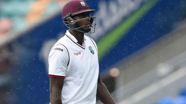 Slow going: Jason Holder was also fined 60 per cent of his match fee.