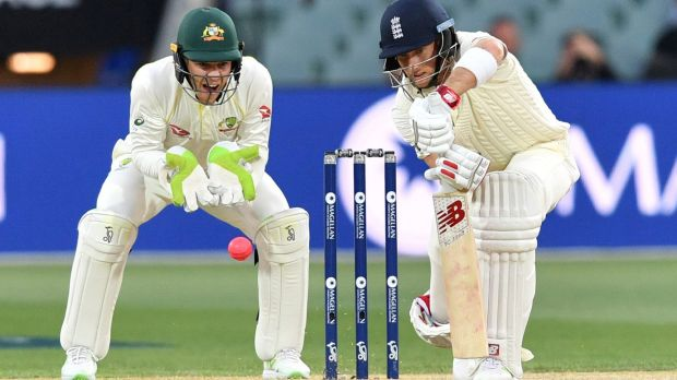 Tim Paine and Joe Root clashed in the final session.
