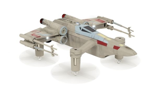 This tiny X-Wing will take some time to master.