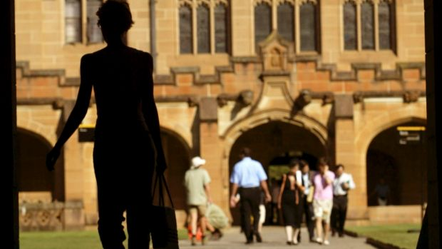 Sydney University staff are under investigation for misuse of credit cards.