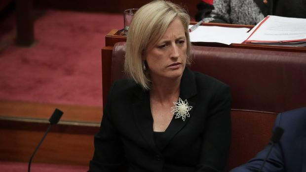 Katy Gallagher was a UK citizen when nominating for the last election.