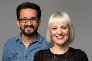 Sami Shah and Jacinta Parsons have replaced Red Symons on ABC Radio Melbourne.