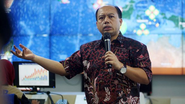 Sutopo Purwo Nugroho, the head of Data Information and Public Relations at Indonesia's National Disaster Management Agency.