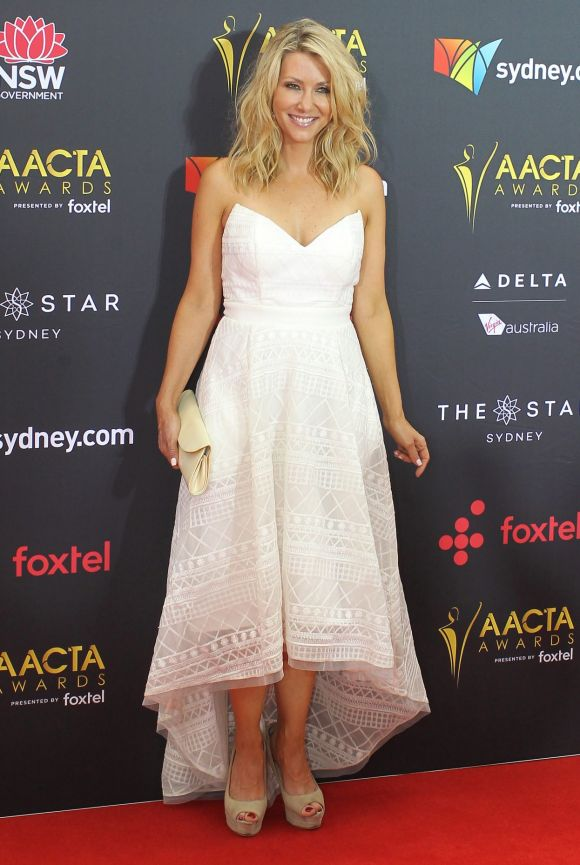 Jaynie Seal arrives at the AACTA (Australian Academy of Cinema and Television Arts) Awards at The Star.