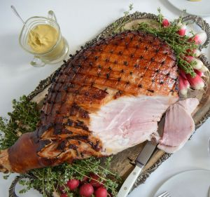 Meatsmith's Christmas glazed ham is succulent and made from purebred Tamworth pigs.