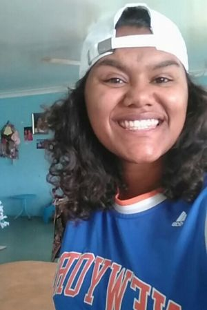 Inala's teenager Lenesha Duncan says that young people need to know that they are not alone.