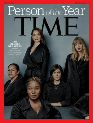 The cover of Time.