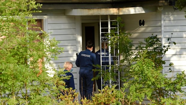 The Cochrane Street property was the scene of a shooting last year.