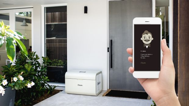 Chester is another smart mailbox, but will allow deliveries from anybody. Once locked it will only open on its owners ...