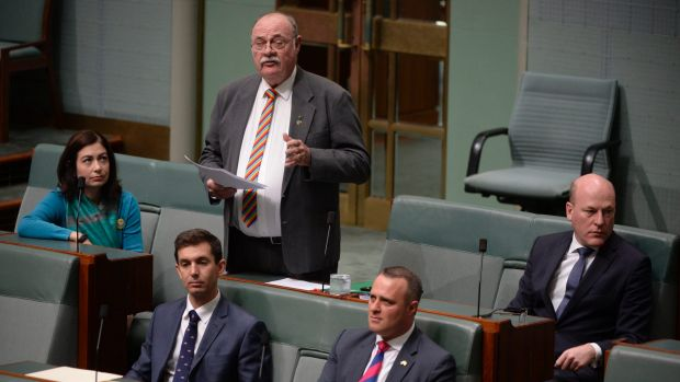 LNP MP Warren Entsch speaks in the House of Representatives on Thursday