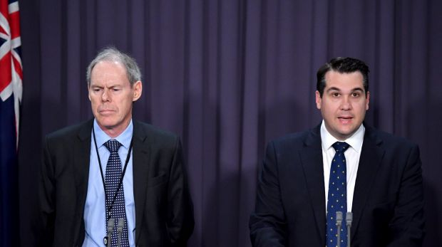 Commissioner of the Australian Charities and Not-for-profits Commission Dr Gary Johns and Assistant Minister to the ...
