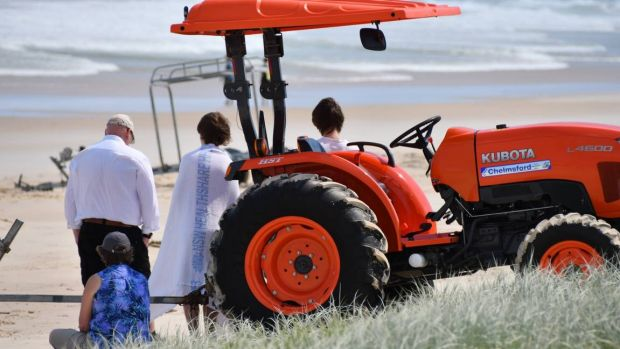 The search continues for the boy missing off the Port Macquarie beach.
