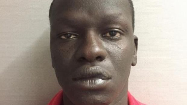 Magot Machol was captured in North Melbourne on Thursday.