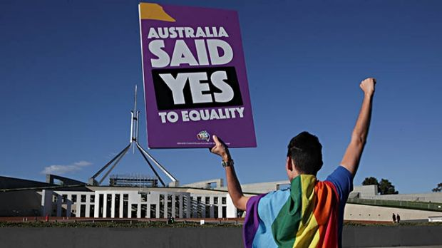 The same-sex marriage debate ended on a high note.