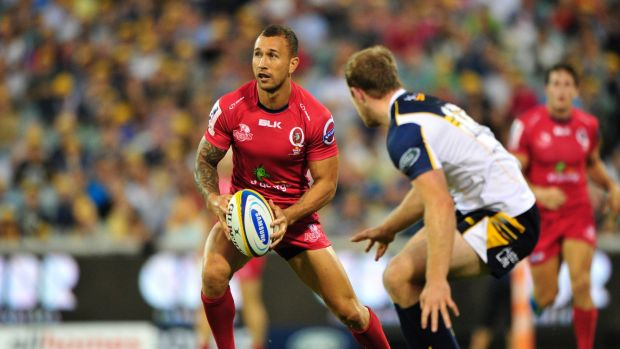 On the move: Quade Cooper doesn't have a club for 2018, why not Auckland?