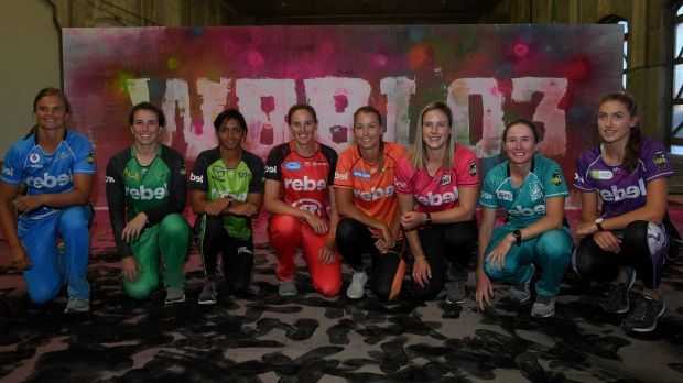 Brace yourself: The Women's Big Bash was launched in Sydney on Thursday morning.