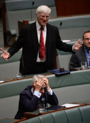 "An MP reacting to Bob Katter's ""rubbish"" anti same-sex marriage speech on Thursday."
