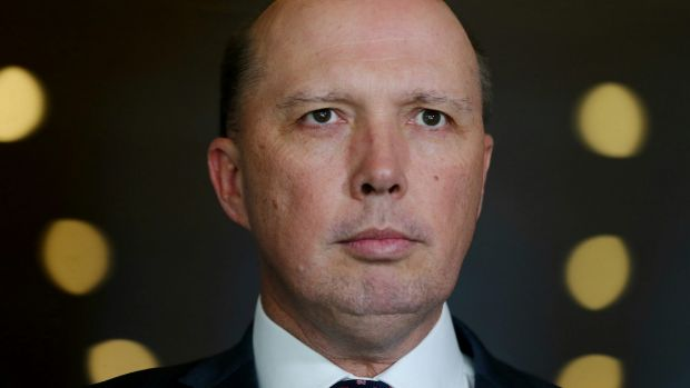 Home Affairs Minister Peter Dutton's views were no doubt shaped by his past as a policeman.