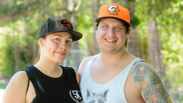 Vanessa and Warwick Ferguson from Queanbeyan are regular visitors to Canberra Cavalry games. Photo: Sitthixay Ditthavong