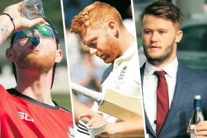Ben Stokes (left), Jonny Bairstow and Ben Duckett have become poster boys for England's perceived booze culture