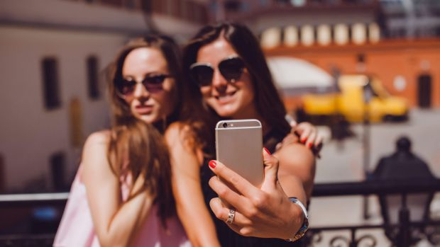 The rules of Instagram are clear: more pouting, less smiling.