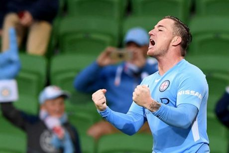 Ross McCormack scored the winner for City on Sunday night.