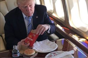 President Donald Trump drinks up to 12 diet cokes a day.