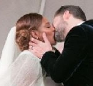 Serena Williams wore two dresses to her wedding.