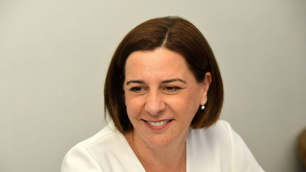 Opposition Leader Deb Frecklington.