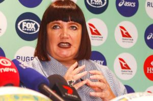 Newly appointed Rugby Australia CEO Raelene Castle.