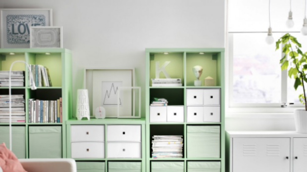 IKEA revolutionised furniture shopping with distinctive colours and flat-packed designs.